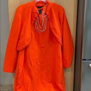Linen dress and jacket size 14